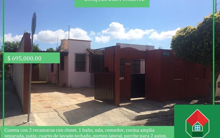 Foto de casa en venta en  , bosques del poniente, mérida, yucatán, 1557810 No. 01