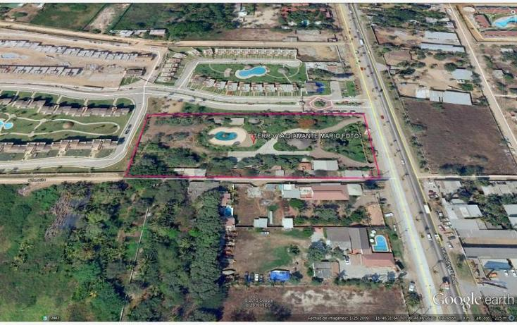 Foto de terreno habitacional en venta en boulevard de las naciones 1, playa diamante, acapulco de juárez, guerrero, 2661894 No. 01