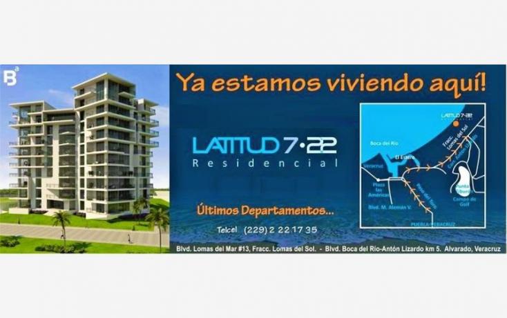 Foto de departamento en venta en boulevard del mar 13, club de golf villa rica, alvarado, veracruz, 727701 no 03