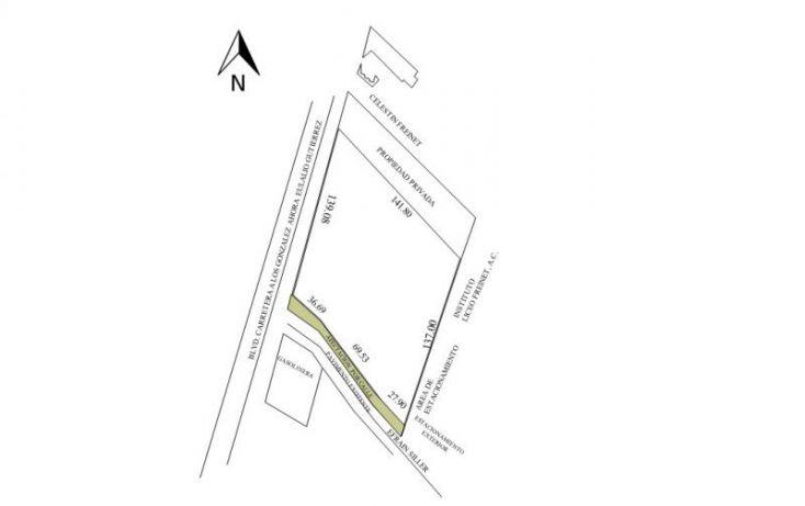 Foto de terreno comercial en venta en boulevard eulalio gutiérrez, los pinos, saltillo, coahuila de zaragoza, 1669438 no 04