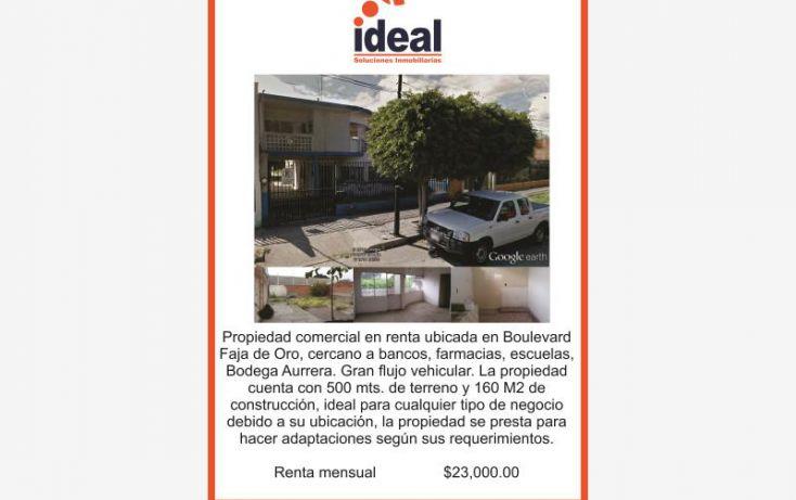 Foto de casa en renta en boulevard faja de oro, bellavista, salamanca, guanajuato, 1816250 no 01