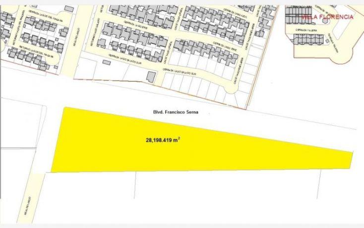 Foto de terreno habitacional en venta en boulevard francisco serna y calle canal san antonio, las praderas iv, hermosillo, sonora, 1115439 no 05