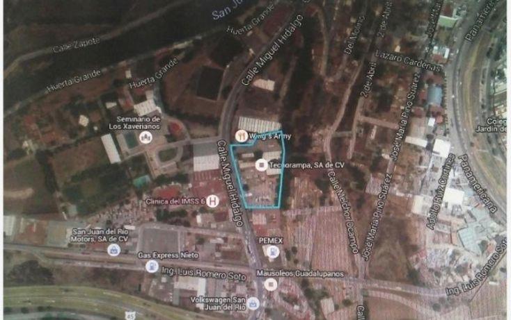Foto de terreno habitacional en venta en boulevard miguel hidalgo 1, arboledas, san juan del río, querétaro, 2010534 no 01