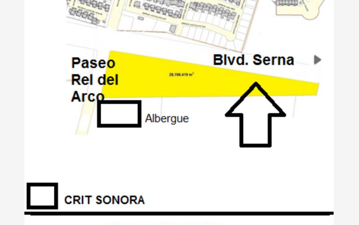 Foto de terreno comercial en venta en boulevard real del arco y prolongacion boulevard serna nonumber, las praderas, hermosillo, sonora, 874395 No. 02