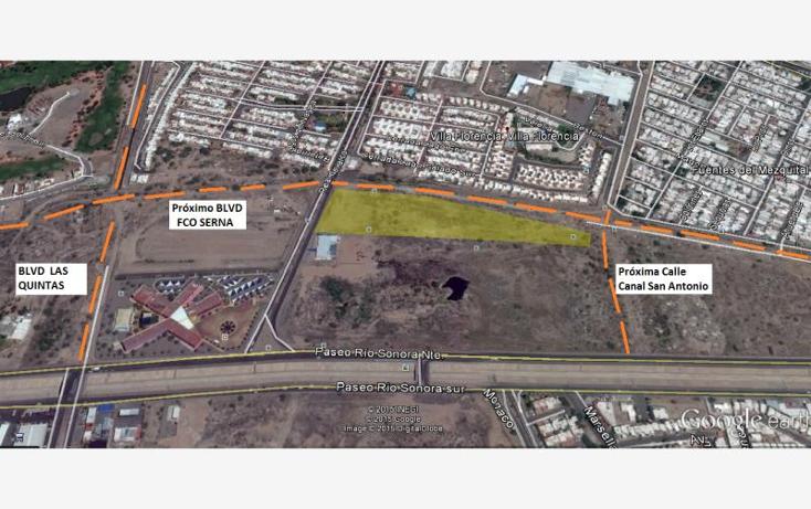 Foto de terreno comercial en venta en boulevard real del arco y prolongacion boulevard serna nonumber, las praderas, hermosillo, sonora, 874395 No. 03