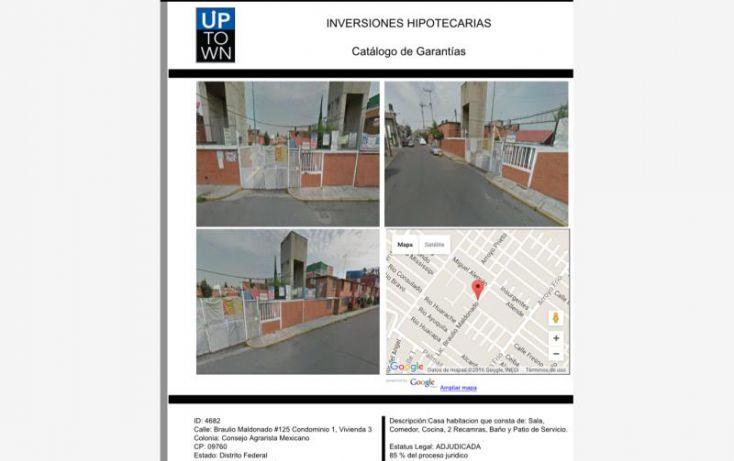 Foto de casa en venta en braulio maldonado 125, consejo agrarista mexicano, iztapalapa, df, 1737656 no 01