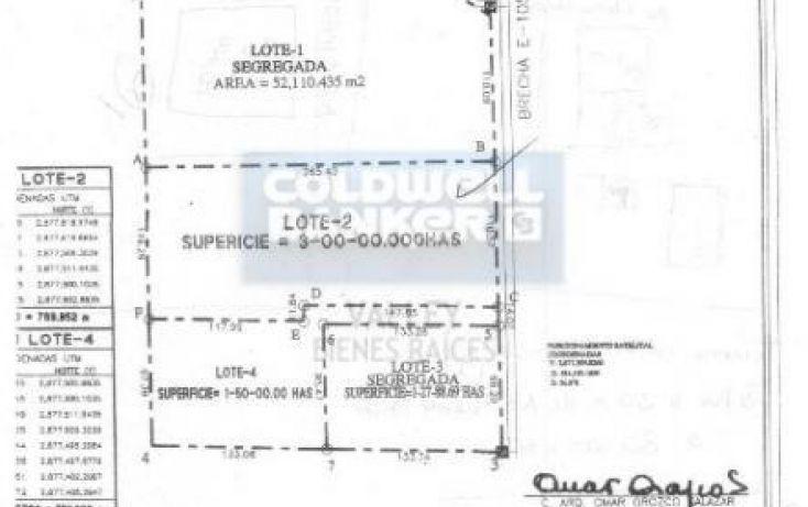 Foto de terreno habitacional en venta en brecha 105, palo blanco ejido, reynosa, tamaulipas, 1398297 no 04