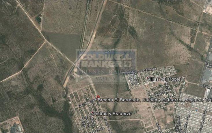 Foto de terreno habitacional en venta en brecha el berrendo, esfuerzo nacional i, reynosa, tamaulipas, 539265 no 02