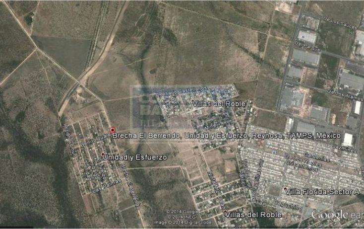 Foto de terreno habitacional en venta en brecha el berrendo, esfuerzo nacional i, reynosa, tamaulipas, 539265 no 03