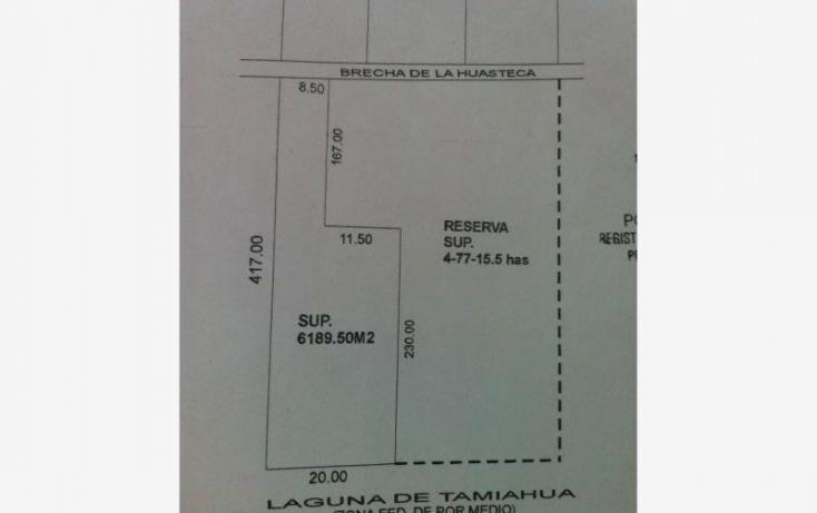 Foto de terreno habitacional en venta en brecha huasteca 1001, barrio del cementerio, pueblo viejo, veracruz, 1603322 no 06