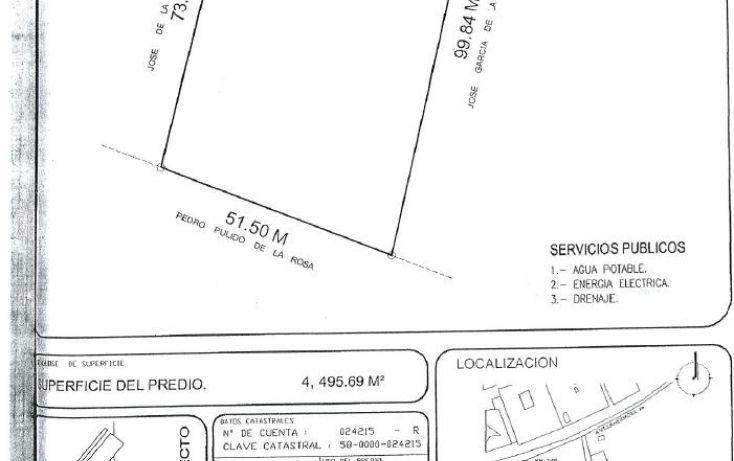Foto de terreno comercial en venta en, buena vista río nuevo 2a sección, centro, tabasco, 1678902 no 01