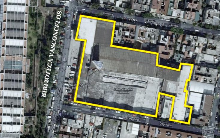 Foto de terreno habitacional en venta en, buenavista, cuauhtémoc, df, 1144237 no 02