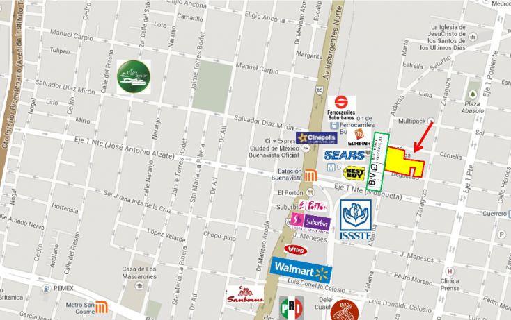 Foto de terreno habitacional en venta en, buenavista, cuauhtémoc, df, 1144237 no 05