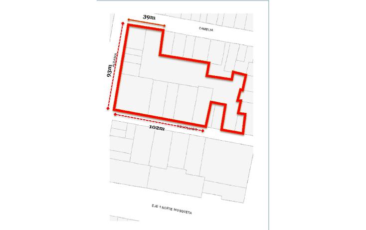 Foto de terreno habitacional en venta en  , buenavista, cuauht?moc, distrito federal, 1144237 No. 03