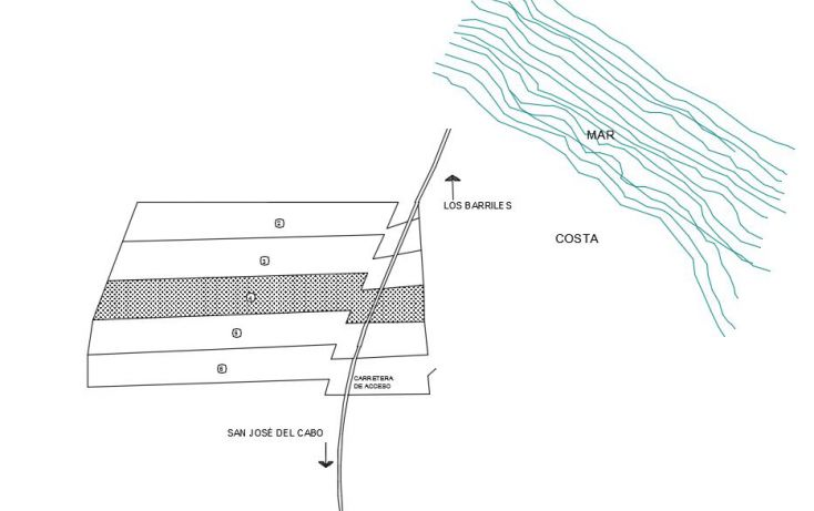 Foto de terreno habitacional en venta en, buenavista, los cabos, baja california sur, 1756932 no 03