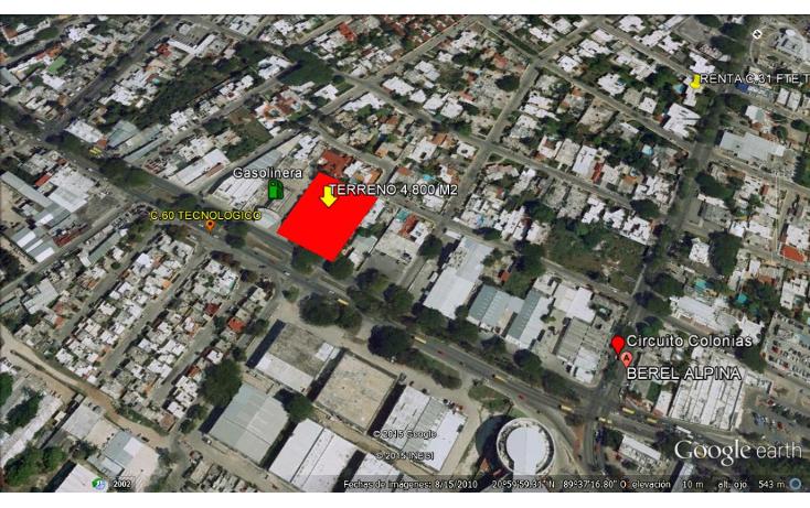 Foto de terreno habitacional en venta en  , buenavista, m?rida, yucat?n, 1247427 No. 01