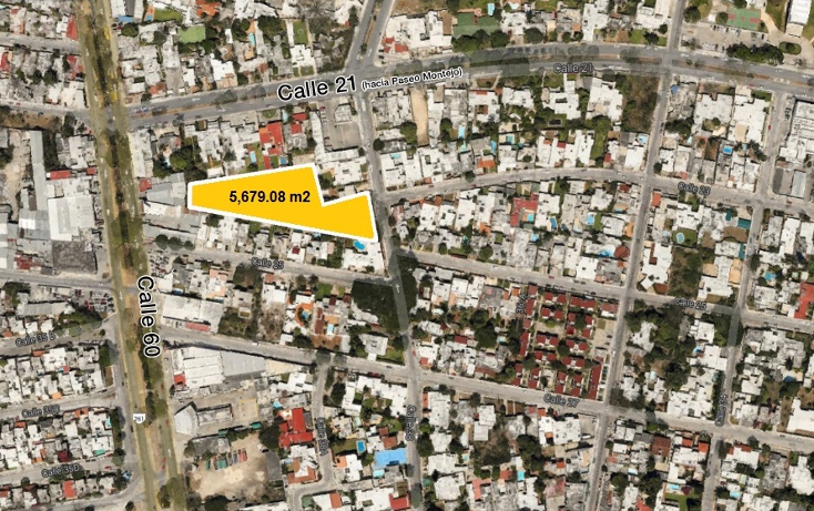 Foto de terreno habitacional en venta en  , buenavista, m?rida, yucat?n, 1982978 No. 01