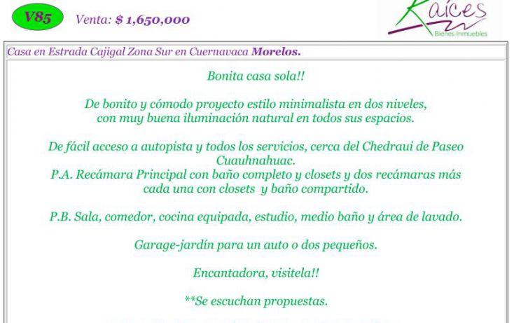 Foto de casa en venta en bugambilias, pilares, cuernavaca, morelos, 1534530 no 02