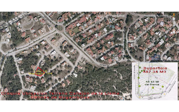 Foto de terreno habitacional en venta en  , bugambilias, zapopan, jalisco, 1231107 No. 03