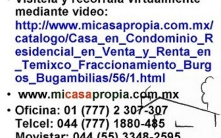 Foto de casa en condominio en renta en, burgos bugambilias, temixco, morelos, 1095853 no 08