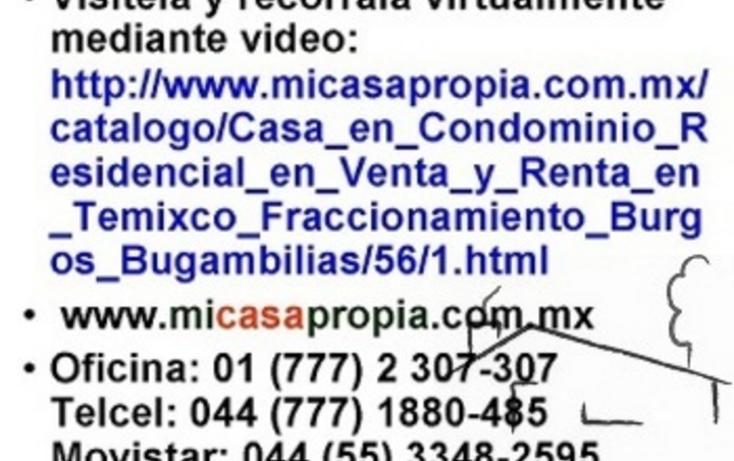 Foto de casa en renta en  , burgos bugambilias, temixco, morelos, 1095853 No. 08