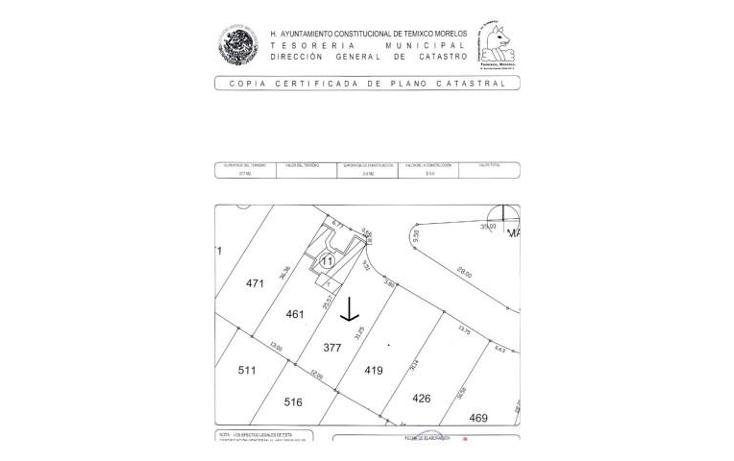 Foto de terreno habitacional en venta en  , burgos, temixco, morelos, 1068797 No. 01