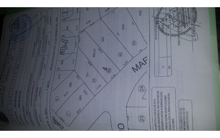 Foto de terreno habitacional en venta en  , burgos, temixco, morelos, 2039992 No. 02