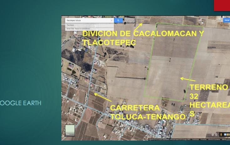 Foto de terreno comercial en venta en  , cacalomacán centro, toluca, méxico, 2631196 No. 07