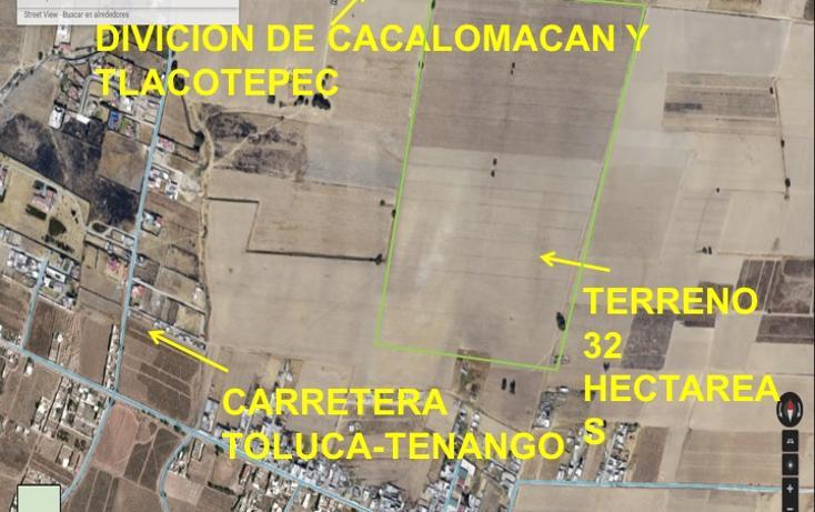 Foto de terreno comercial en venta en  , cacalomacán centro, toluca, méxico, 2631196 No. 13