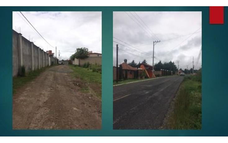 Foto de terreno habitacional en venta en  , cacalomacán, toluca, méxico, 1172093 No. 01