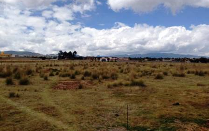 Foto de terreno habitacional en venta en  , cacalomac?n, toluca, m?xico, 1294409 No. 01