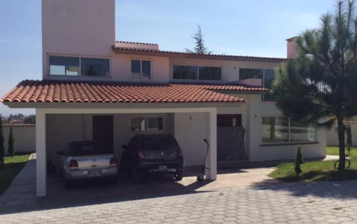 Foto de casa en renta en  , cacalomacán, toluca, méxico, 1480787 No. 01
