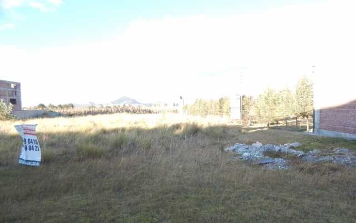 Foto de terreno habitacional en venta en  , cacalomacán, toluca, méxico, 1546117 No. 05