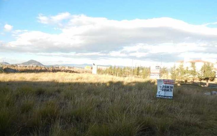 Foto de terreno habitacional en venta en  , cacalomacán, toluca, méxico, 1546117 No. 06
