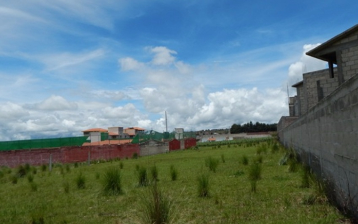 Foto de terreno habitacional en venta en  , cacalomacán, toluca, méxico, 2036556 No. 03
