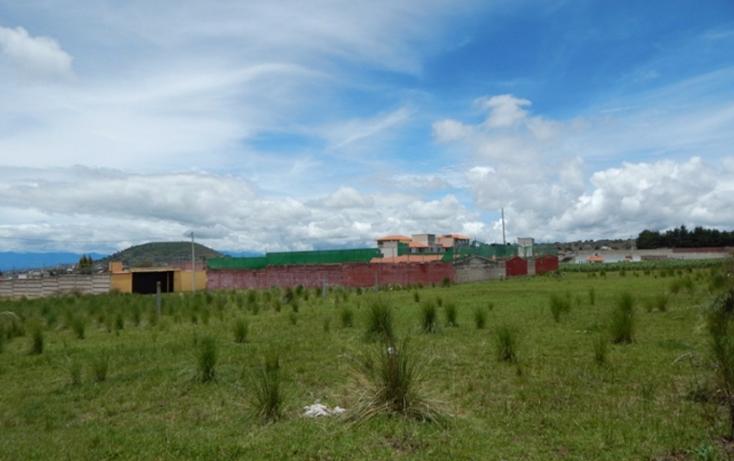 Foto de terreno habitacional en venta en  , cacalomacán, toluca, méxico, 2036556 No. 04