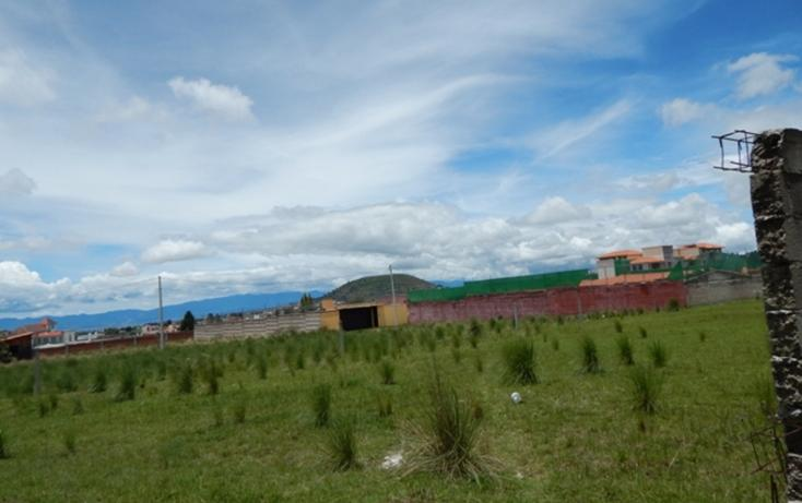 Foto de terreno habitacional en venta en  , cacalomacán, toluca, méxico, 2036556 No. 07