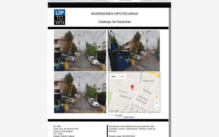 Foto de casa en venta en cada de tenanlo 42, barrio de caramagüey, tlalpan, df, 1581012 no 01