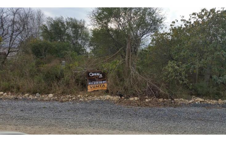 Foto de terreno habitacional en venta en  , cadereyta, cadereyta jiménez, nuevo león, 1709116 No. 03