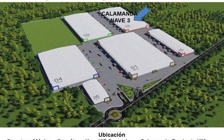 Foto de nave industrial en renta en  nd, calamanda, el marqués, querétaro, 754149 No. 03