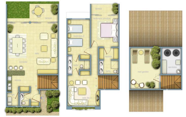 Foto de terreno habitacional en venta en caleta yalku , puerto aventuras, solidaridad, quintana roo, 586659 No. 12