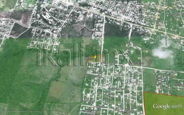 Foto de terreno habitacional en venta en calizto almazan, infonavit las granjas, tuxpan, veracruz, 577966 no 01