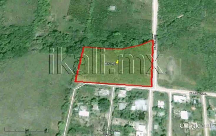 Foto de terreno habitacional en venta en calizto almazan, infonavit las granjas, tuxpan, veracruz, 577966 no 02
