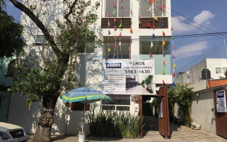 Foto de casa en condominio en venta en calle 10 1, san pedro de los pinos, benito juárez, df, 1512757 no 01