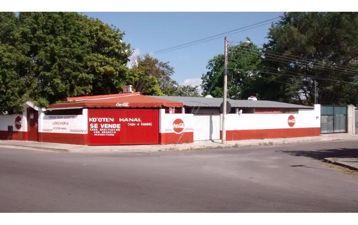 Foto de casa en venta en calle 12 esquina con avenida fidel velázquez 508-a , amalia solorzano, mérida, yucatán, 1960432 No. 01