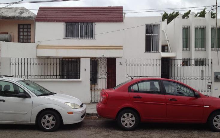 Foto de casa en renta en calle 31  b, justo sierra, carmen, campeche, 898711 no 01