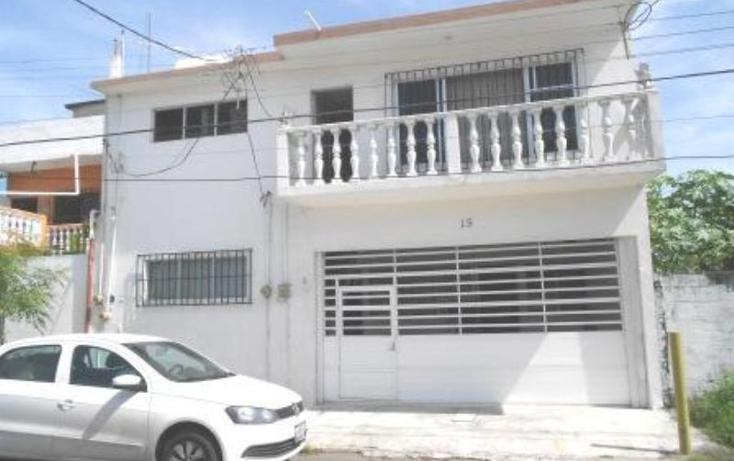 Foto de casa en venta en calle cerrada del maestro 15, del maestro, veracruz, veracruz de ignacio de la llave, 596296 No. 01