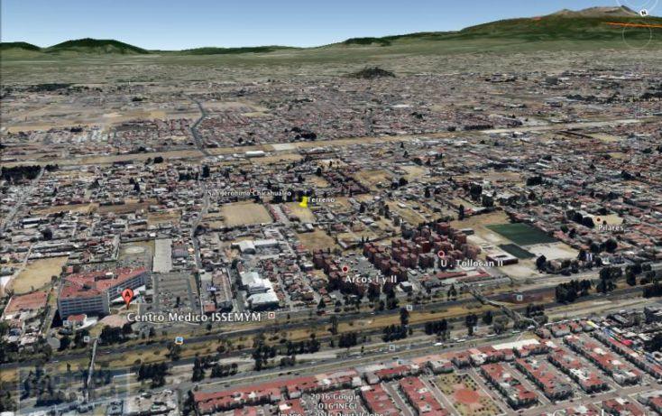 Foto de terreno habitacional en venta en calle chapultepec, san jerónimo chicahualco, metepec, estado de méxico, 1749523 no 02