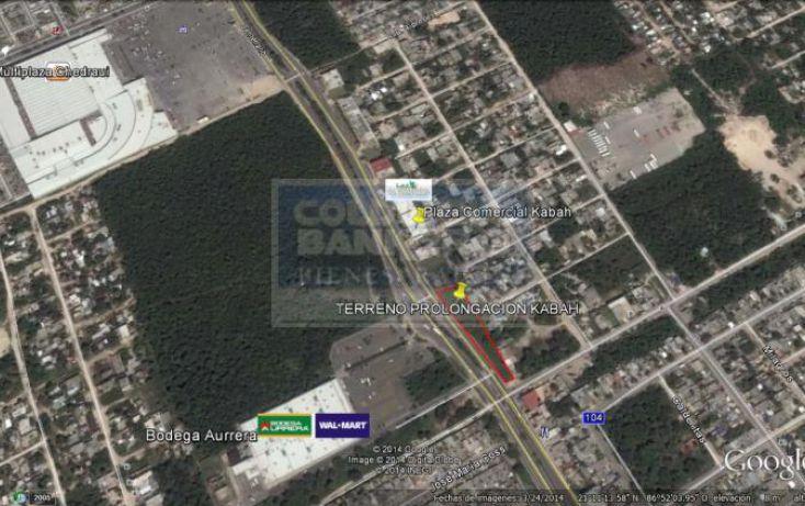 Foto de terreno habitacional en venta en calle chetumal entre kabah fracc villas del mar, casas del mar, benito juárez, quintana roo, 576453 no 03