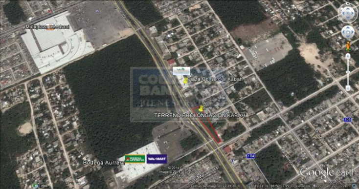 Foto de terreno comercial en venta en  , casas del mar, benito juárez, quintana roo, 576453 No. 03